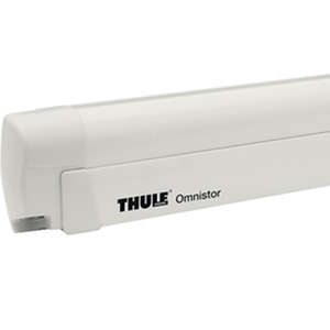 THULE Omnistor 8000 Awning - Cream White Ral 9002 + Storm Straps made by Thule. A Caravan Awning sold by Quality Caravan Awnings