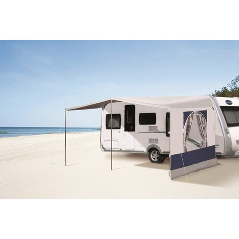 Leinwand Alboran Sun Caravan Canopy made by Leinwand. A Caravan Awning sold by Quality Caravan Awnings
