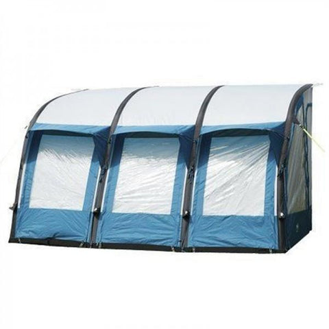 Royal Wessex Air Awning 390 - Blue + Free Storm Straps - Quality Caravan Awnings