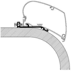 Thule Omnistor Flat Awning Adapter Series 6 308097 made by Thule. A Add-ons sold by Quality Caravan Awnings