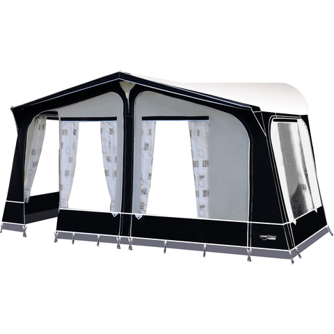 Image of Camptech Cayman Grey Touring Caravan Awning + FREE Storm Straps (2020) made by CampTech. A Caravan Awning sold by Quality Caravan Awnings