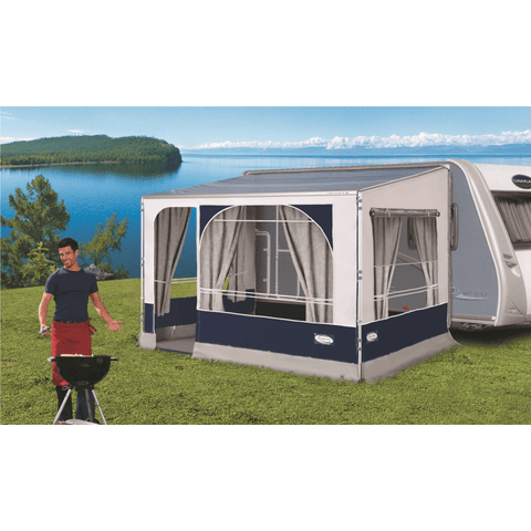 Leinwand Explorer Easy for Fiamma Caravanstore made by Leinwand. A Caravan Awning sold by Quality Caravan Awnings