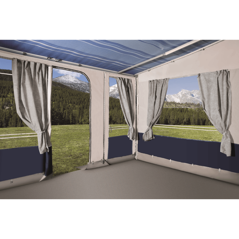 Leinwand Explorer Star Caravan Awning (Fiamma/Thule) made by Leinwand. A Caravan Awning sold by Quality Caravan Awnings