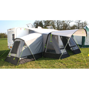 Crusader Awning Side Extension for Climate Zone Air 350 made by Crusader. A Annex sold by Quality Caravan Awnings