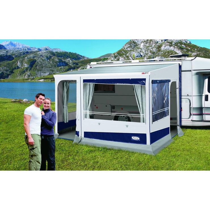 Leinwand Explorer Concept Caravan Awning (Thule/Fiamma) made by Leinwand. A Caravan Awning sold by Quality Caravan Awnings