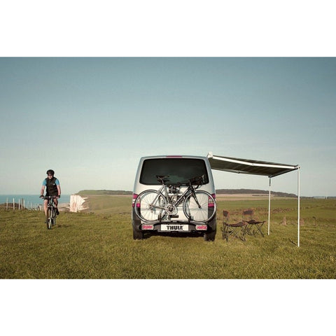 Image of THULE Omnistor 5102 incl. VW-Adapter T5|T6 Multi Van + FREE Storm Strap Kit made by Thule. A Campervan Awning sold by Quality Caravan Awnings