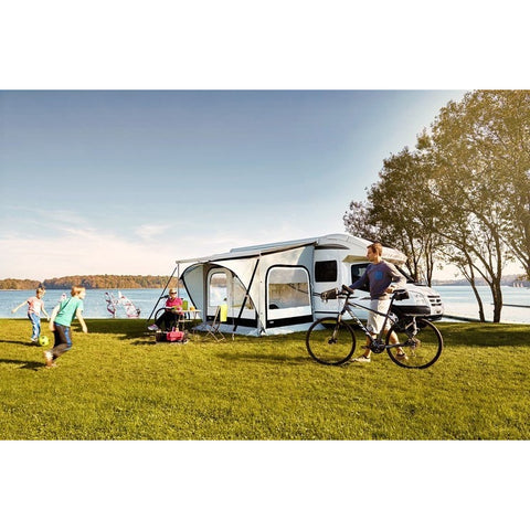 Image of Thule Omnistor Quickfit Awning Tent made by Thule. A Thule Awning Tent sold by Quality Caravan Awnings