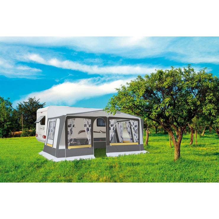Outdoors view of Exterior view of Trigano Adriatic Full Caravan Awning