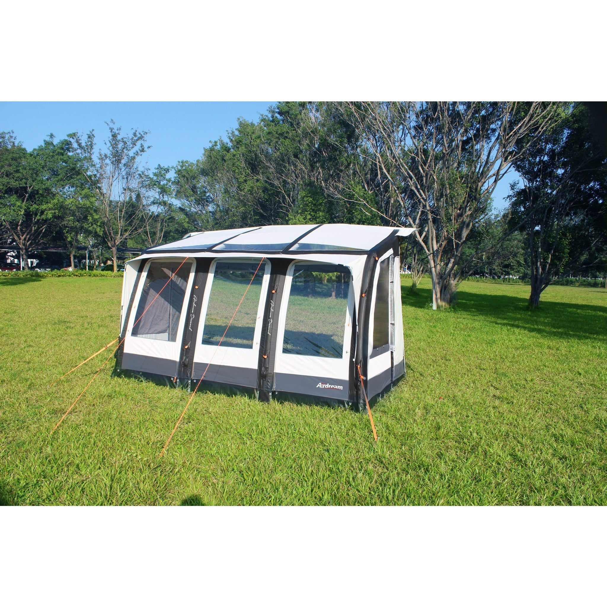 CampTech AirDream Diamond Inflatable Porch Awning + Free ...