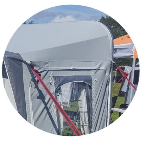 Image of Camptech Atlantis DL Seasonal Traditional Full Caravan Awning + FREE Straps (2019) made by CampTech. A Caravan Awning sold by Quality Caravan Awnings