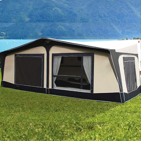 Image of Bradcot Residencia 50 Full Traditional Residential All Season Awning by Quality Caravan Awnings