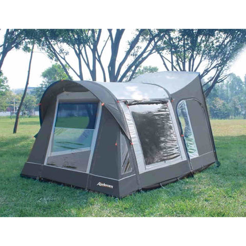 Image of CampTech MotoAir Monarch Driveaway Inflatable Campervan Awning + Free Straps (2019) made by CampTech. A Air Awning sold by Quality Caravan Awnings