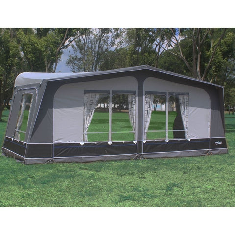 Image of Camptech Savanna DL Seasonal Traditional Full Caravan Awning + Free Storm Straps (2021)