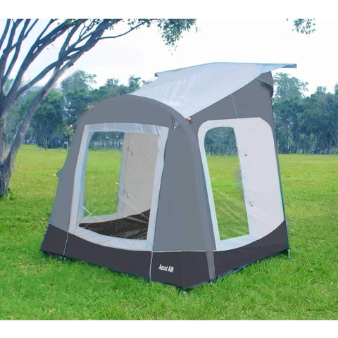 Image of Camptech Ascot Air Inflatable Porch Caravan Awning (2019) + Free Storm Straps made by CampTech. A Air Awning sold by Quality Caravan Awnings