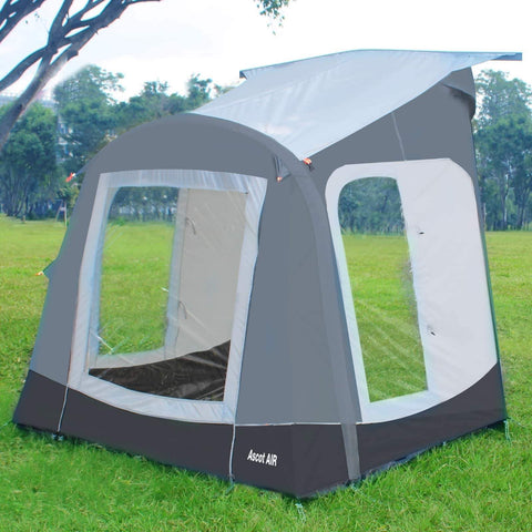 Camptech Ascot Air Inflatable Porch Caravan Awning (2019) + Free Storm Straps made by CampTech. A Air Awning sold by Quality Caravan Awnings