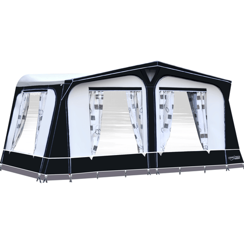 Camptech Cayman Grey Touring Poled Caravan Awning (2019)