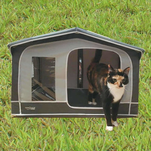 Camptech Pet House - Traditional Mini Awning for Cats & Dogs SL5006 (2019) made by CampTech. A Pet House sold by Quality Caravan Awnings