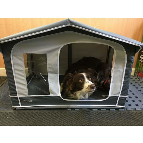 Image of Camptech Pet House - Traditional Mini Awning for Cats & Dogs SL5006 (2019) made by CampTech. A Pet House sold by Quality Caravan Awnings