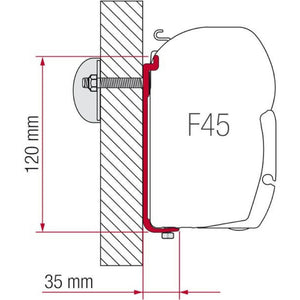 Fiamma AS 400 L Awning Adapter Kit made by Fiamma. A Awning Adapter sold by Quality Caravan Awnings