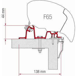 Fiamma Caravan Hobby 2009 Awning Adapter Kit - Quality Caravan Awnings