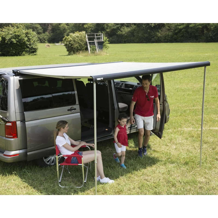 Fiamma F40 VAN Deep Black Campervan Awning made by Fiamma. A Campervan Awning sold by Quality Caravan Awnings