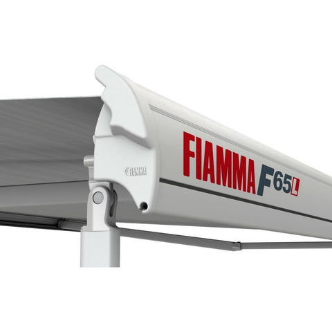 Image of Fiamma F65L Deep Black Motorhome Awning made by Fiamma. A Motorhome Awnings sold by Quality Caravan Awnings