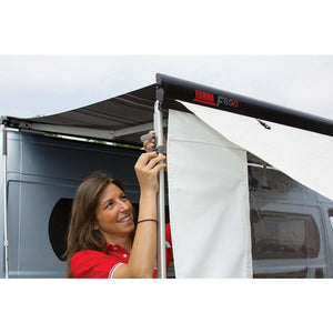 Fiamma F65S Polar White Motorhome Awning - Quality Caravan Awnings