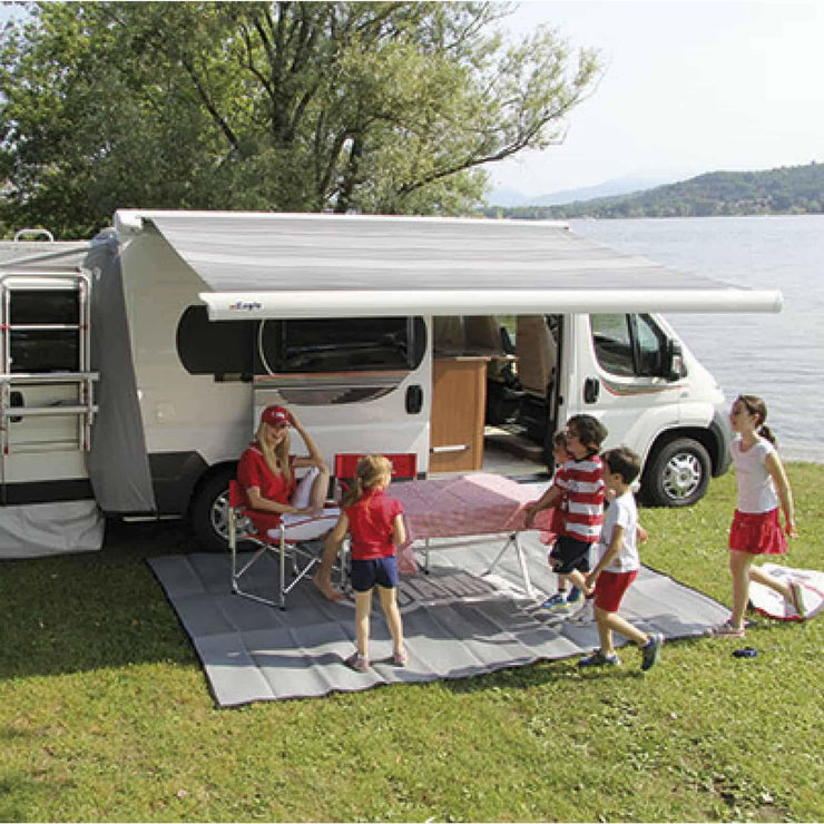 Fiamma F65 Eagle Polar White Automatic Motorhome Awning made by Fiamma. A Motorhome Awnings sold by Quality Caravan Awnings