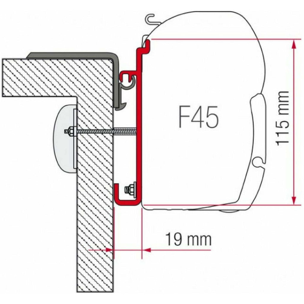Fiamma Rapido Serie 7-8 Awning Adapter Kit made by Fiamma. A Awning Adapter sold by Quality Caravan Awnings