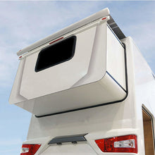 Fiamma Slide Out Polar White Pop-out Wall Awning - Quality Caravan Awnings