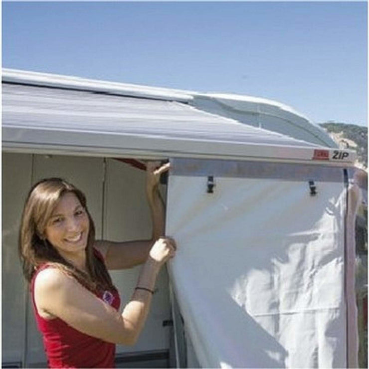 Fiamma ZIP Medium Awning Front & Side Panels made by Fiamma. A Awning Tent sold by Quality Caravan Awnings