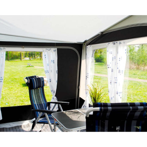 Walker Fusion 240 Caravan Awning (2018) + Free Storm Straps - Quality Caravan Awnings