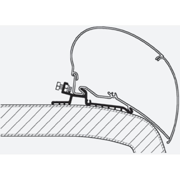 Thule Omnistor Hymer Sx Awning Adapter Series 6 308087 made by Thule. A Add-ons sold by Quality Caravan Awnings
