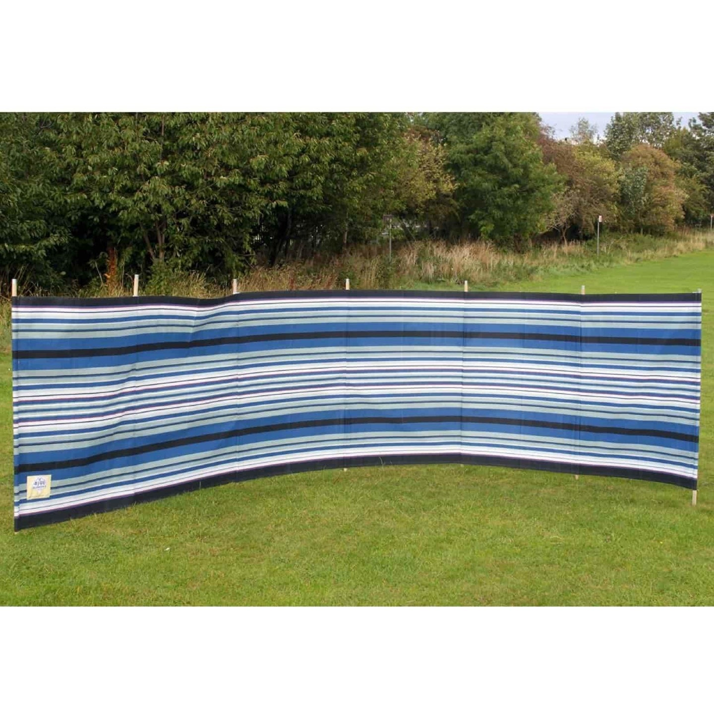 Outdoor Revolution 7 Pole Navy/Burgundy Contemporary Stripe WB780 made by Outdoor Revolution. A Accessories sold by Quality Caravan Awnings