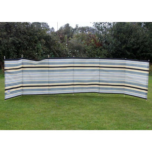 Outdoor Revolution 7 Pole Sand/Grey Contemporary Stripe WB770 - Quality Caravan Awnings