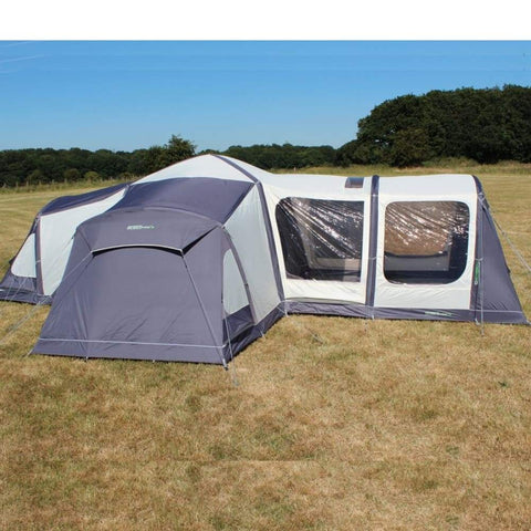 Outdoor Revolution Airedale 12.0 Inflatable Air Tent ORBK8820 + Free Pump (2019) made by Outdoor Revolution. A Tent sold by Quality Caravan Awnings