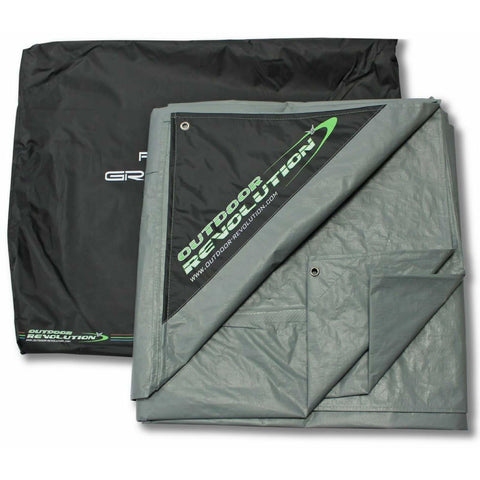 Outdoor Revolution Airedale 12 Tent Footprint Groundsheet ORBK8825 made by Outdoor Revolution. A Tent Accessory sold by Quality Caravan Awnings