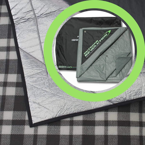Outdoor Revolution Airedale 7.0 Tent Snugrug + Footprint Bundle ORBK8725 (2019) made by Outdoor Revolution. A Accessories sold by Quality Caravan Awnings