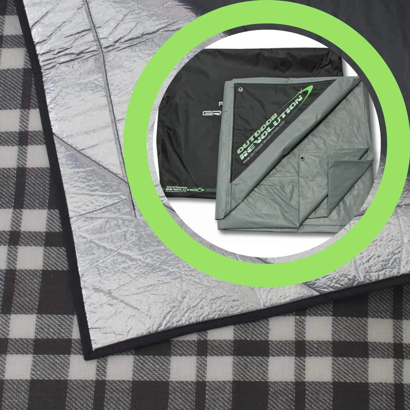 Outdoor Revolution Airedale 8.0 Tent Snugrug + Footprint Package ORBK8830 (2019)