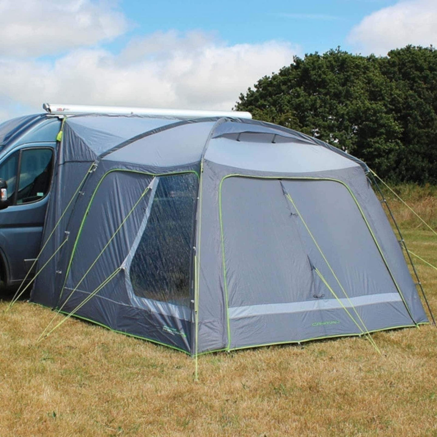 Outdoor Revolution Cayman Lowline Poled Driveaway Awning ORBK7400 (2019) made by Outdoor Revolution. A Drive-away Awning sold by Quality Caravan Awnings
