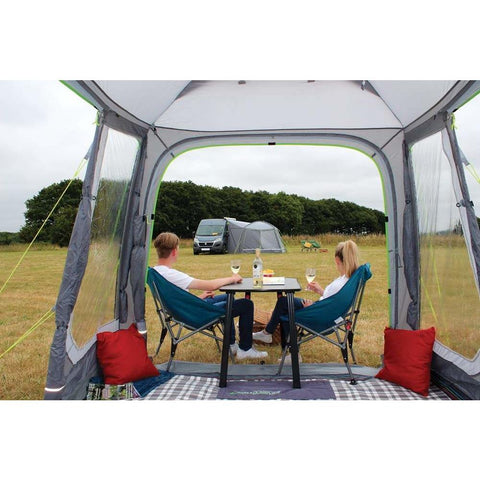 Image of Outdoor Revolution Cayman Tail Poled Driveaway Awning ORBK7600 (2019) made by Outdoor Revolution. A Drive-away Awning sold by Quality Caravan Awnings