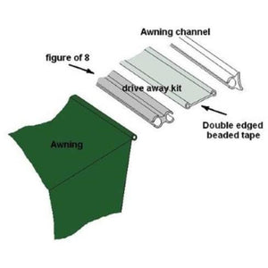 Outdoor Revolution Driveaway Fitting Kit (2019) made by Outdoor Revolution. A Accessories sold by Quality Caravan Awnings