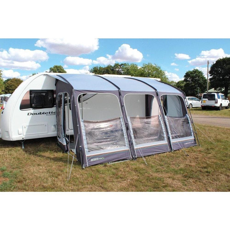 Outdoor Revolution E-Sport 400 Poled Caravan Porch Awning + Free Groundsheet (2019) made by Outdoor Revolution. A Drive-away Awning sold by Quality Caravan Awnings