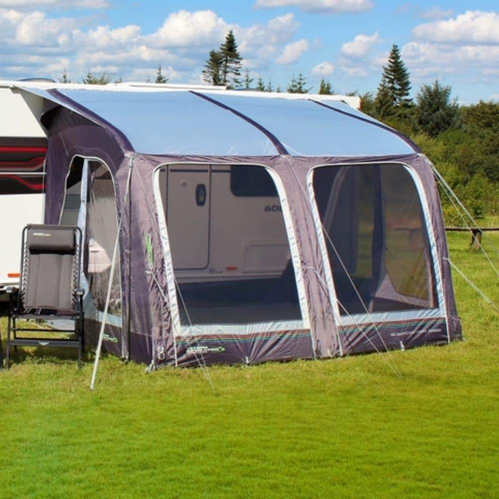 2ed7c3bed8 ... Outdoor Revolution E-Sport Air 325 Inflatable Caravan Awning + Free  Groundsheet (2019) ...