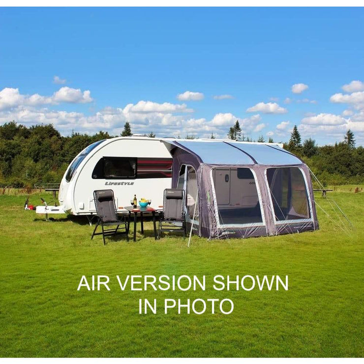 Outdoor Revolution E-Sport 325 Poled Caravan Porch Awning + Free Groundsheet (2019) made by Outdoor Revolution. A Drive-away Awning sold by Quality Caravan Awnings