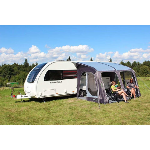 Image of Outdoor Revolution E-Sport Air 325 Caravan Awning & Groundsheet & Annex Bundle (2019) made by Outdoor Revolution. A Air Awning sold by Quality Caravan Awnings