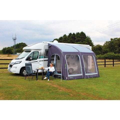 Image of Outdoor Revolution E-Sport Air 325 Inflatable Caravan Awning + Free Groundsheet (2019) made by Outdoor Revolution. A Air Awning sold by Quality Caravan Awnings