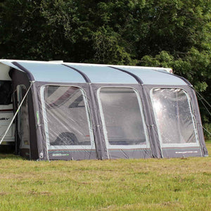 Outdoor Revolution E-Sport Air 400 Inflatable Awning + FREE Carpet (2018) - Quality Caravan Awnings