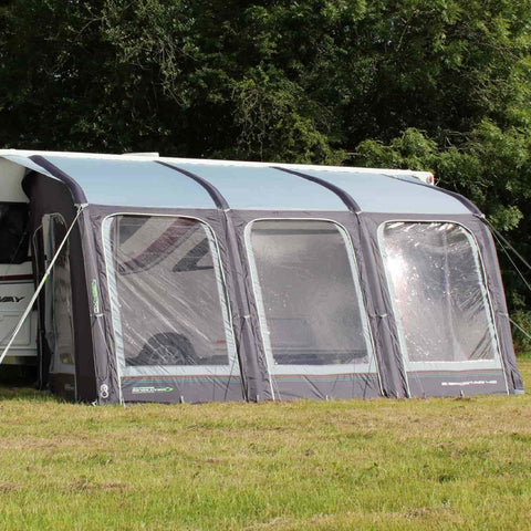 Outdoor Revolution E-Sport Air 400 Inflatable Awning + FREE Carpet (2018)