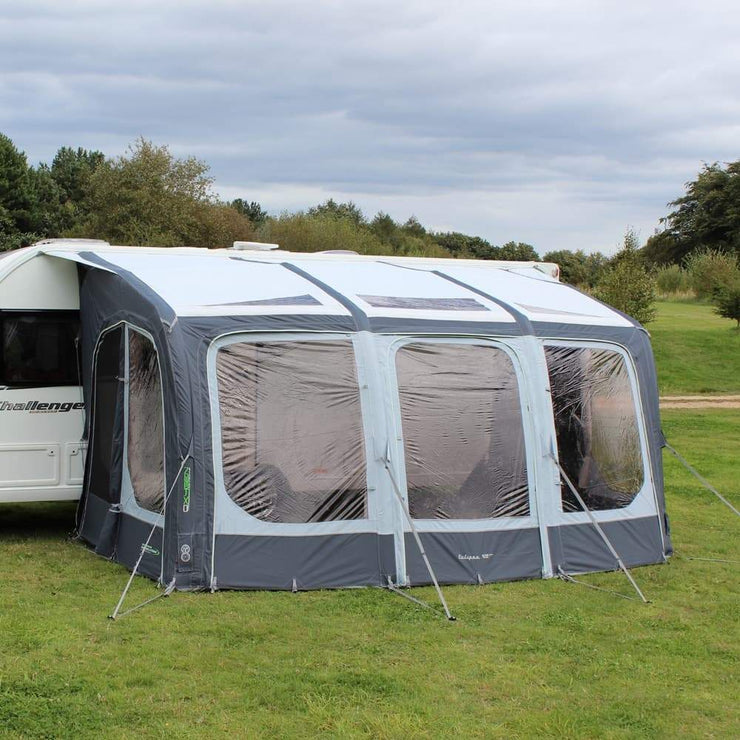 Outdoor Revolution Eclipse 420 Pro Inflatable Caravan Awning + Free Carpet (2020)